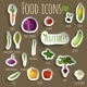 Food Vegetables Set - GraphicRiver Item for Sale