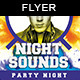 Night Sounds | Party Flyer Template - GraphicRiver Item for Sale