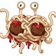Flying Spaghetti Monster - GraphicRiver Item for Sale
