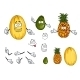 Fruit Cartoons - GraphicRiver Item for Sale