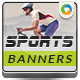 Sports Shop Banner Set - GraphicRiver Item for Sale