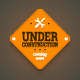 Under Construction Sign - GraphicRiver Item for Sale