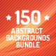 150 Abstract Backgrounds Bundle - GraphicRiver Item for Sale
