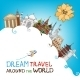 Dream Travel Around The World - GraphicRiver Item for Sale