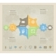 Business Concept Gears Infographic - GraphicRiver Item for Sale