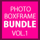 Multi Photo Box Frame Effects Bundle Vol1 - GraphicRiver Item for Sale