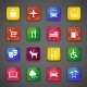 Icons on Buttons - GraphicRiver Item for Sale