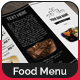 Elegant Bar Menu Design V2 - GraphicRiver Item for Sale