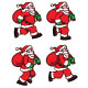 Running Santa Sprite - GraphicRiver Item for Sale