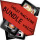 Tablet Magazine Bundle Vol.02 - GraphicRiver Item for Sale