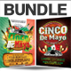 Cinco De Mayo Party Flyer Bundle - GraphicRiver Item for Sale