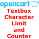 Opencart: Textbox Character Limit and Counter - CodeCanyon Item for Sale
