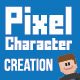 Pixel Character Creation Pack - GraphicRiver Item for Sale