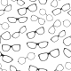 Seamless Pattern with Glasses - GraphicRiver Item for Sale