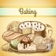 Pastry Background - GraphicRiver Item for Sale