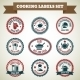 Cooking Chef Labels - GraphicRiver Item for Sale