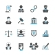 Law Icons Set - GraphicRiver Item for Sale
