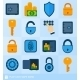 Lock Safe Elements - GraphicRiver Item for Sale