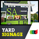 Modern Real Estate Yard Signage 8 + Riders