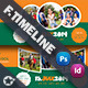 Summer Camp Timeline Templates - GraphicRiver Item for Sale