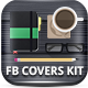 Facebook Covers Kit - Flat Workspaces - GraphicRiver Item for Sale