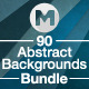 90 Abstract Backgrounds Bundle - GraphicRiver Item for Sale