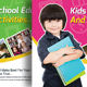 Child Development School Postcard Template - GraphicRiver Item for Sale