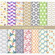 Set of Various Seamless Patterns in 14 Styles - GraphicRiver Item for Sale