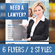 Corporate Lawyer Flyer Multi Colors - GraphicRiver Item for Sale