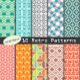 Collection of Retro Patterns - GraphicRiver Item for Sale
