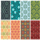Collection of Floral Patterns - GraphicRiver Item for Sale