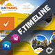 Travel Tour Timeline Templates - GraphicRiver Item for Sale