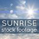 Sunrise - Sky and Clouds Footage
