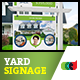 Modern Real Estate Yard Signage 9 + Riders