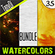 Various Watercolors | Bundle - GraphicRiver Item for Sale