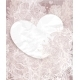 Greeting Card with Heart on Background - GraphicRiver Item for Sale