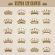 Victorian Crowns - GraphicRiver Item for Sale