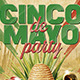 Cinco de Mayo Party Flyer Poster Template