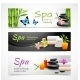 Realistic Spa Banners - GraphicRiver Item for Sale