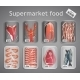 Supermarket Fish and Meat Set - GraphicRiver Item for Sale
