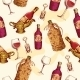 Wine Pattern - GraphicRiver Item for Sale