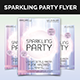 Sparkling Party Flyer - GraphicRiver Item for Sale