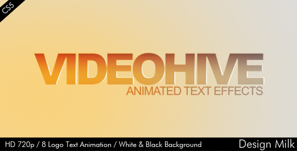 After Effects Project - VideoHive Logo Text Animation 775989