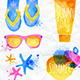 Set Watercolor - GraphicRiver Item for Sale