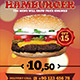 Hamburger Menu Flyer v2 - GraphicRiver Item for Sale