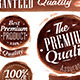 Set of Watercolor Old Premium Brown  - GraphicRiver Item for Sale