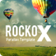 RockoX - One Page Parallax  - ThemeForest Item for Sale