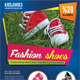 Kid And Shoes Multipurpose Flyer 02 - GraphicRiver Item for Sale