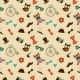 Hipster Colorful Seamless Pattern - GraphicRiver Item for Sale