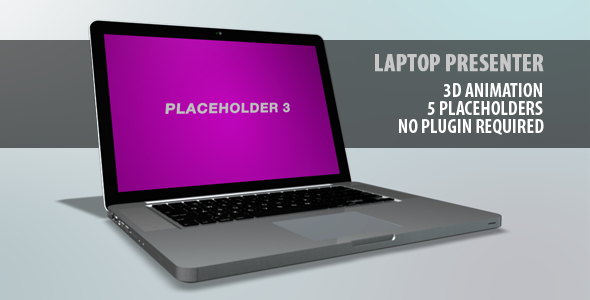 After Effects Project - VideoHive Laptop Presenter 708523